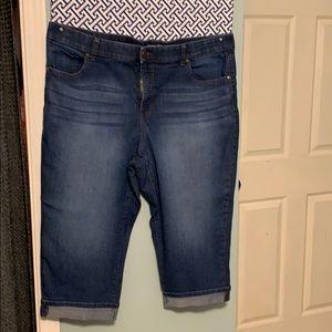 Terra & Sky cropped jeans